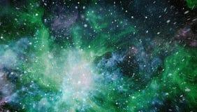 Giacimento di stella nello spazio profondo molti anni luci lontano dalla terra Elementi di questa immagine ammobiliati dalla NASA Fotografia Stock Libera da Diritti