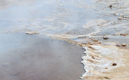 Giacimento geotermico di Geysir Fotografie Stock