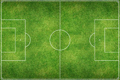 Giacimento verde dello stadio di football americano immagine stock