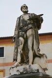 Giacomo da Ponte statue in Bassano del Grappa, Italy Stock Photo