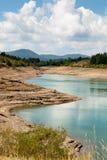 Giacopiane lake Royalty Free Stock Photo