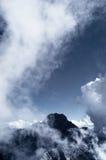 Giada di Mt con le nuvole Fotografia Stock Libera da Diritti