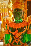 Giada verde Buddha Fotografia Stock Libera da Diritti