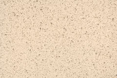Giallo-chiaro naturale di superficie del quarzo per il cou della cucina o del bagno immagine stock