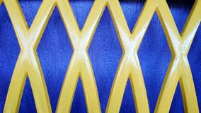Giallo di progettazione dell'estratto di quattro X Fotografia Stock