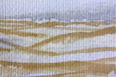 Giallo e Grey Watercolor 2 Fotografie Stock