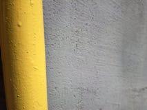Giallo e grigio in una combinazione piacevole Fotografie Stock