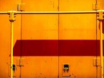 Giallo e rosso Fotografia Stock