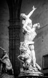 Giambologna's Rape of the Sabine Woman Royalty Free Stock Photo
