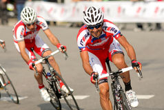 Giampaolo Caruso of Katusha Team Stock Photography