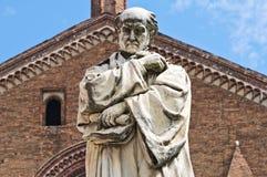 Gian Domenico Romagnosi Statue.Piacenza. Emilia-Romagna. Italy. Stock Photos