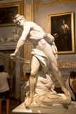 Gian Lorenzo Bernini masterpiece, David, dated 1624 stock photography