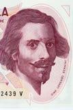 Gian Lorenzo Bernini portrait Stock Images