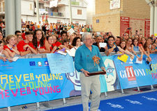 Giancarlo Giannini al Giffoni Film Festival 2013 stock photo
