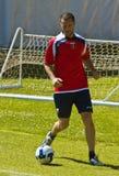 Giandomenico Mesto Genoa CFC Player. Genoa Vs Volpiano friendly soccer match. Images taken on 25th may 2009 stock photos