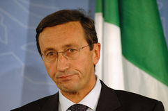 Gianfranco Fini Fotografie Stock