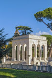 Gianicolense陵墓纪念碑,罗马 库存图片