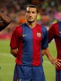 Gianluca Zambrotta of Barcelona Stock Images