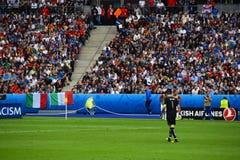 Gianluigi Buffon Włochy bramkarza euro 2016 Zdjęcie Stock