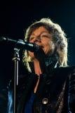 Gianna Nannini在维罗纳竞技场执行活 免版税库存照片