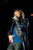 Gianna Nannini performs live at the Arena of Verona royalty free stock photo