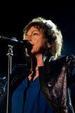 Gianna Nannini realiza vivo en la arena de Verona Fotografía de archivo