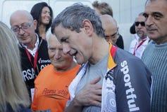 Gianni Alemanno - Bürgermeister von Rom Stockfotografie