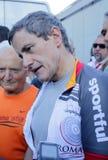 Gianni Alemanno - borgmästare av Rome Arkivfoton