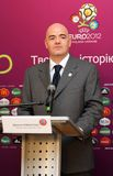 Gianni Infantino Photo stock