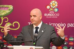 Gianni Infantino Royalty Free Stock Image