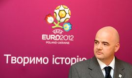 Gianni Infantino Stock Images