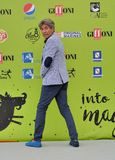 Gianni Ippoliti przy Giffoni Ekranowym festiwalem 2017 zdjęcie stock