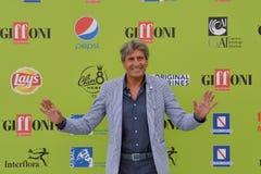 Gianni Ippoliti przy Giffoni Ekranowym festiwalem 2017 obrazy stock