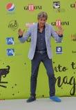 Gianni Ippoliti przy Giffoni Ekranowym festiwalem 2017 fotografia royalty free