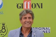 Gianni Ippoliti przy Giffoni Ekranowym festiwalem 2017 obraz stock