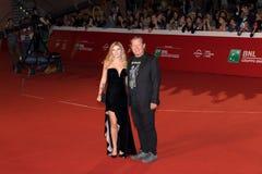 Gianni Lammetti przy Rzym Ekranowym festiwalem 2018 obraz royalty free