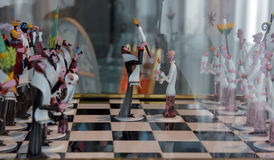 Gianni toso glass figures Stock Images