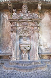 Giannotti fountain. Tuscania. Lazio. Italy. Stock Photos