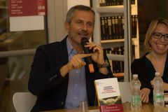 Gianrico carofiglio Arkivfoto