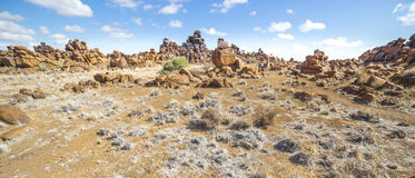 Giant's操场,在Keetmashoop附近,纳米比亚 免版税图库摄影