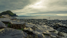 Giant& x27 υπερυψωμένο μονοπάτι του s στην Ιρλανδία στοκ φωτογραφία με δικαίωμα ελεύθερης χρήσης