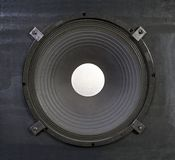 Giant 15 Inch Bass Speaker Royalty Free Stock Image