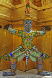 Giant. At the temple in Thailand Stock Photography