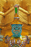 Giant. At the temple in Thailand Royalty Free Stock Photography
