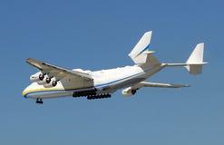 Giant airplane stock image