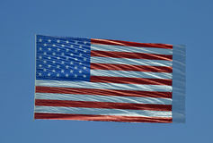 Giant American flag Royalty Free Stock Photo