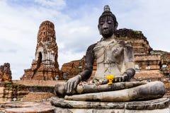 Giant ancient Buddha statue Stock Photo