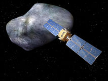 Giant asteroid Royalty Free Stock Photography