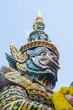 Giant at Ayuthaya historical park Stock Images