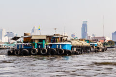 Giant barge Stock Images